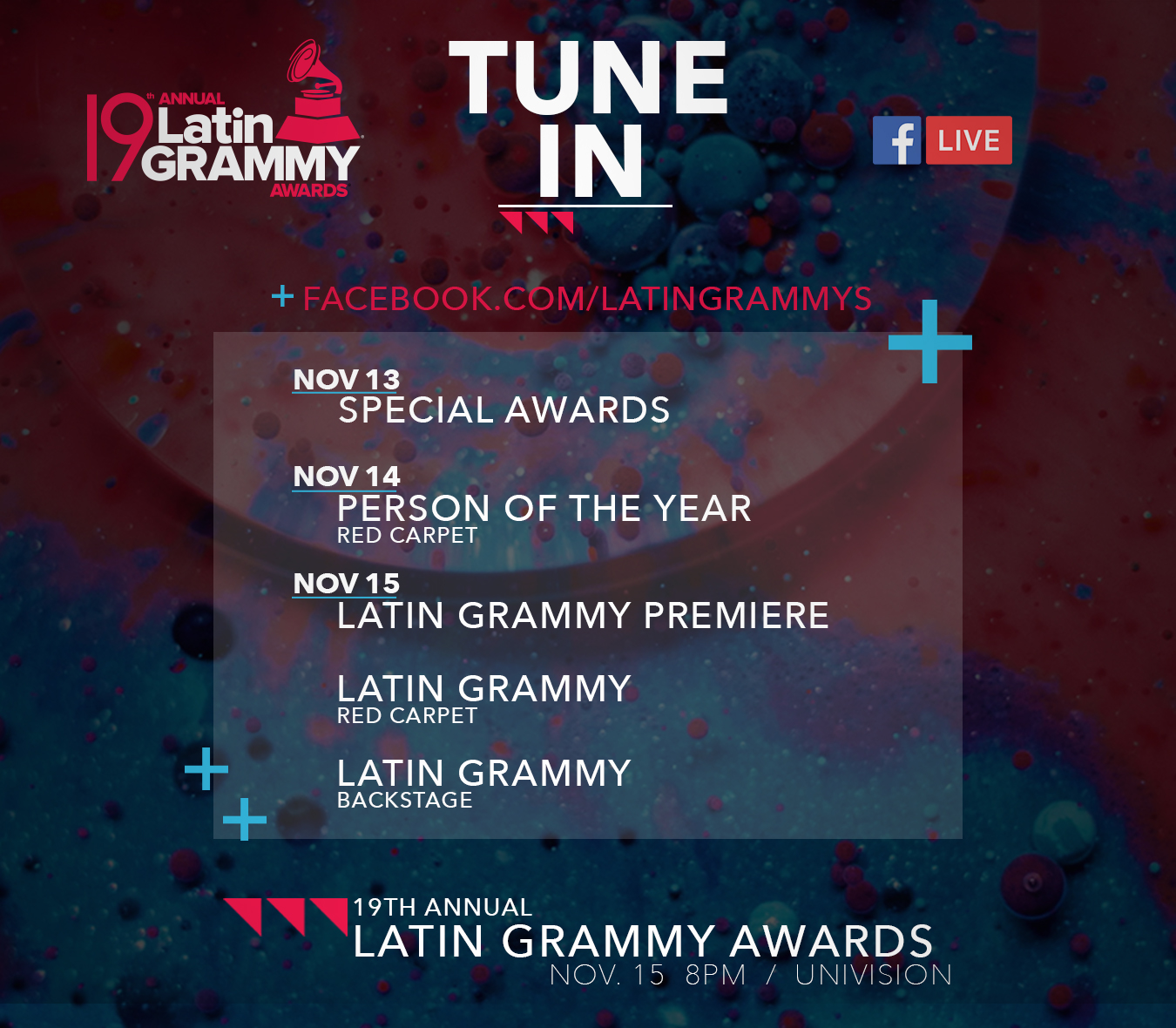 19th Latin GRAMMY Awards