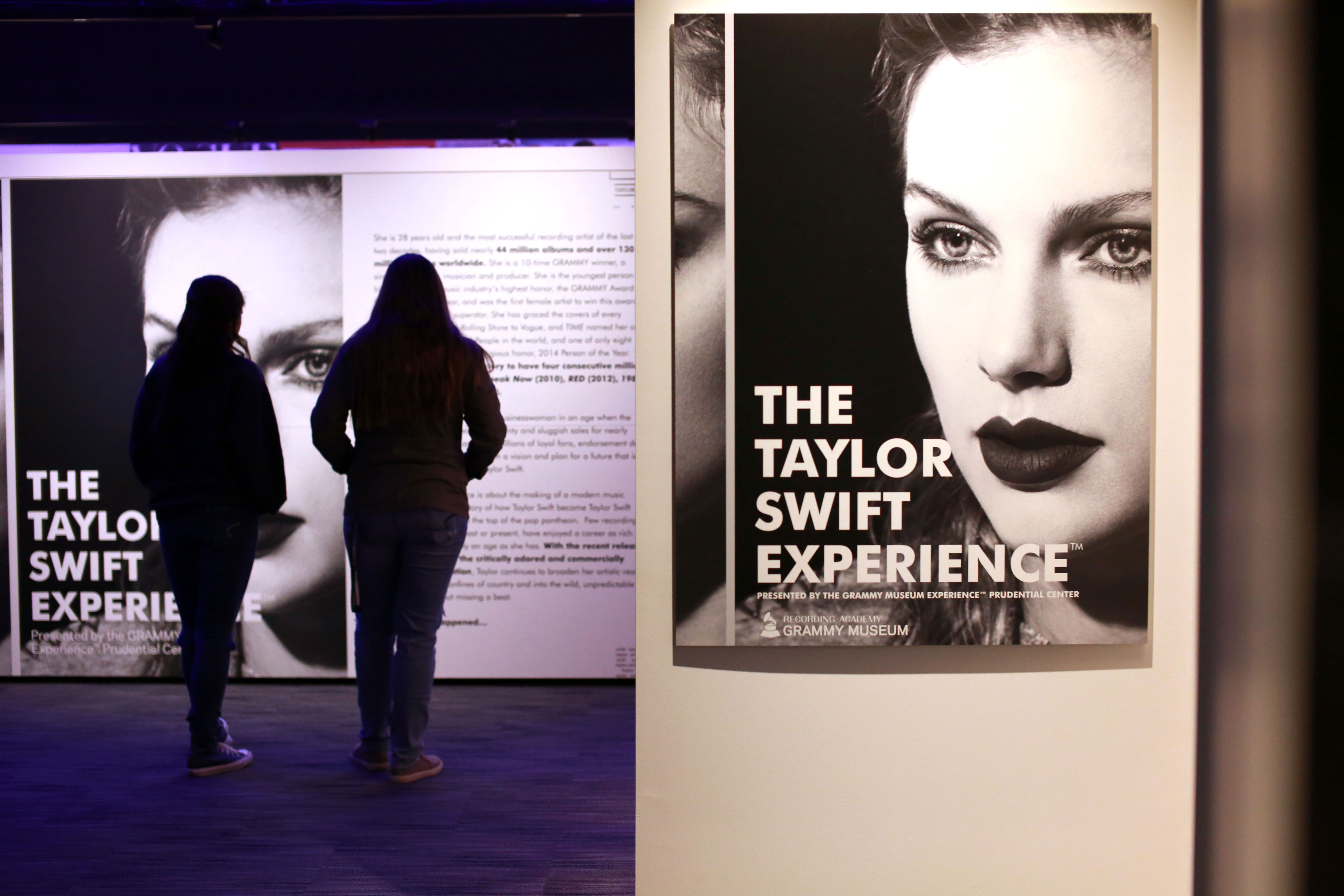 GRAMMY Museum Experience at Prudential Center's Taylor Swift Experience exhibit