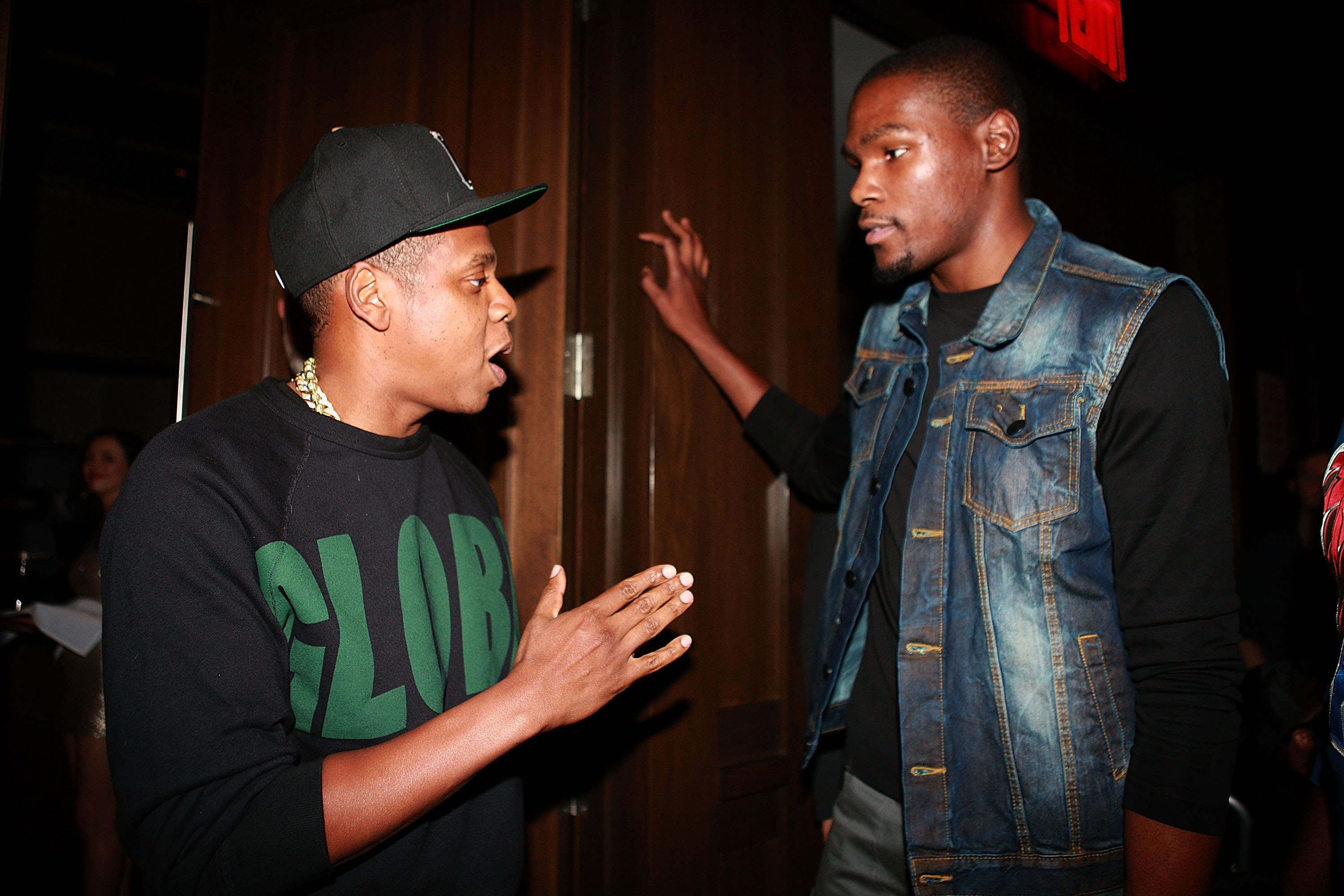 Jay-Z and Kevin Durant in 2013