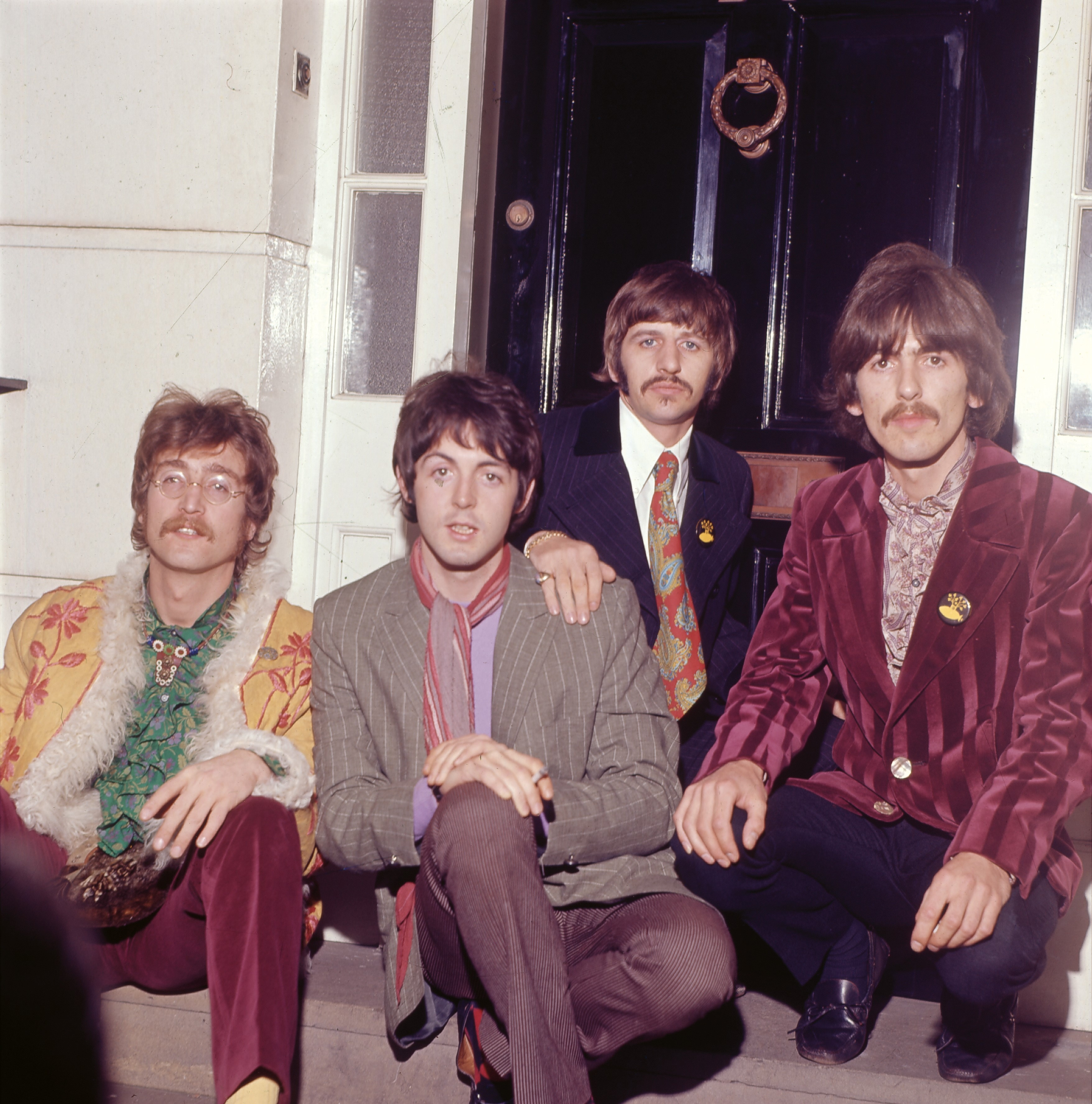 The Beatles photographed in 1967
