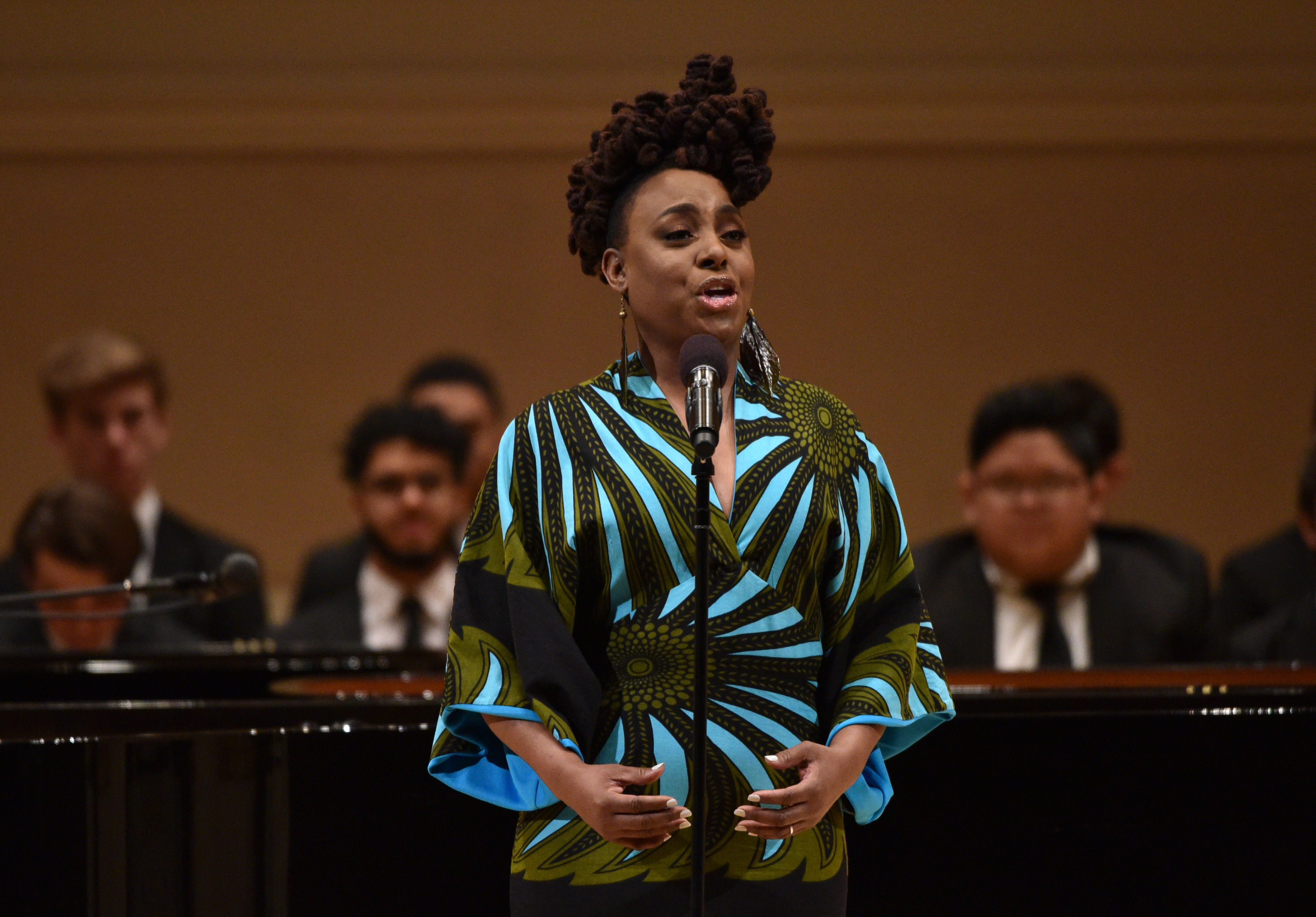 Ledisi at the 2018 GRAMMY Salute To Classical Music at Carnegie Hall in New York City on Jan. 26, 2018