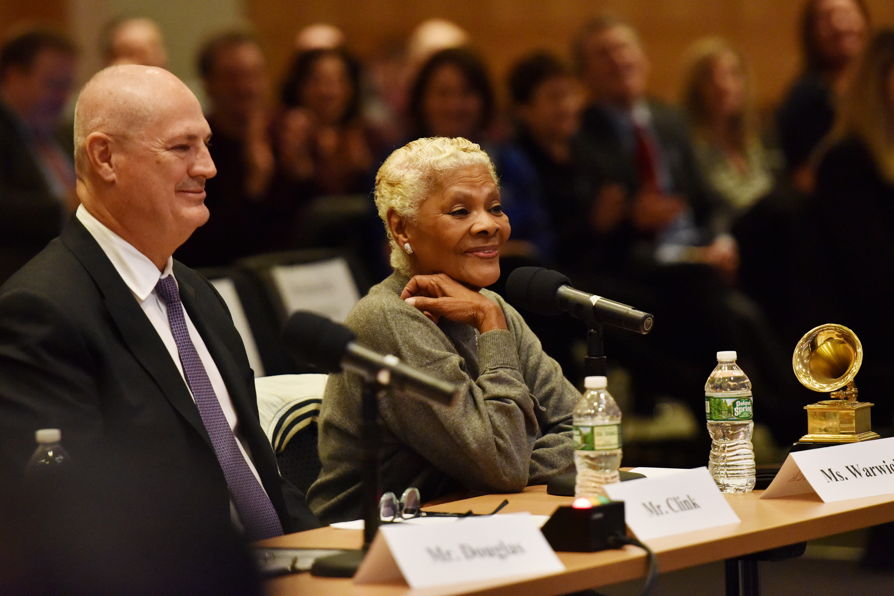 Mike Clink and Dionne Warwick testify at the House Judiciary Committee Field Hearing