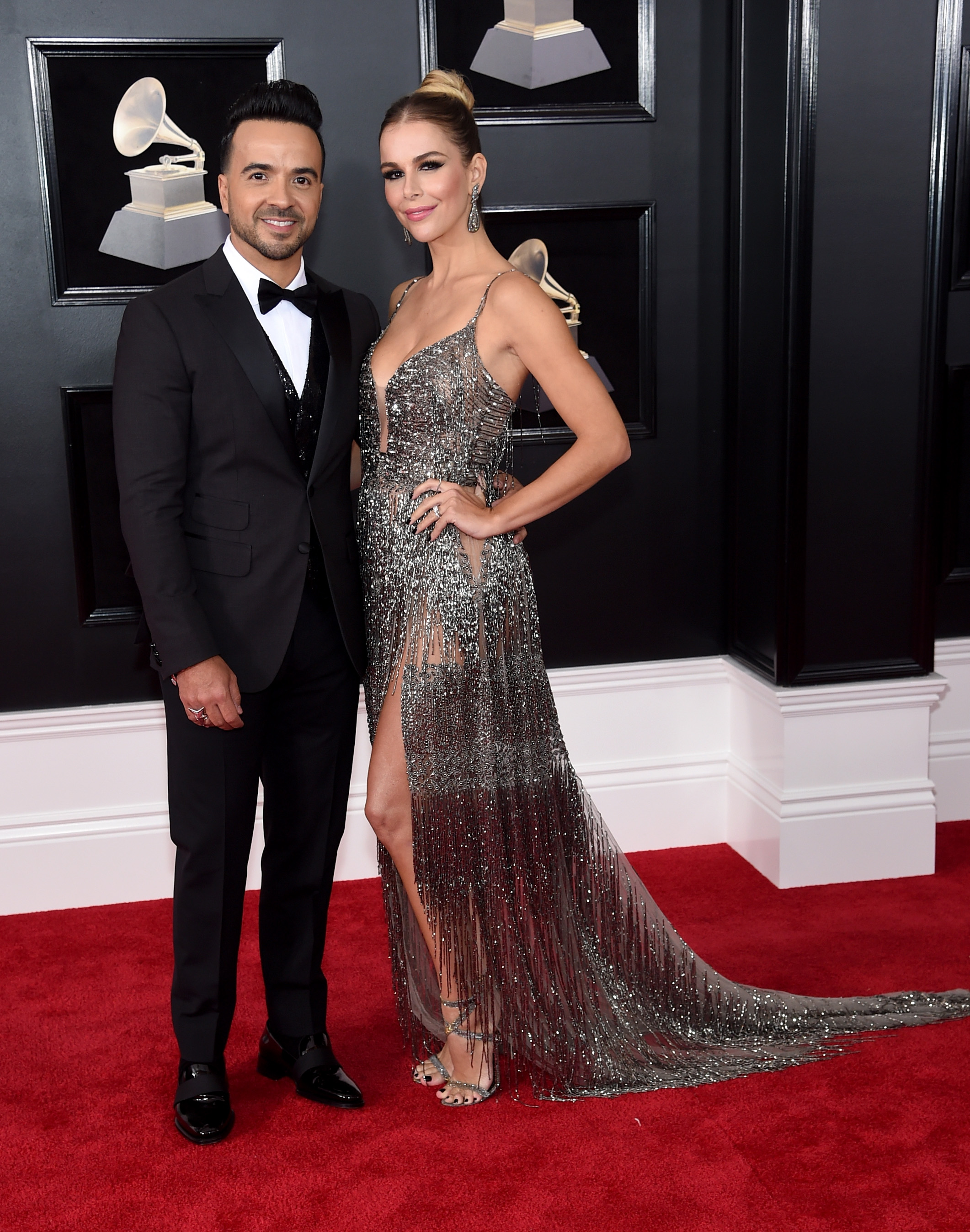 Luis Fonsi and Agueda Lopez