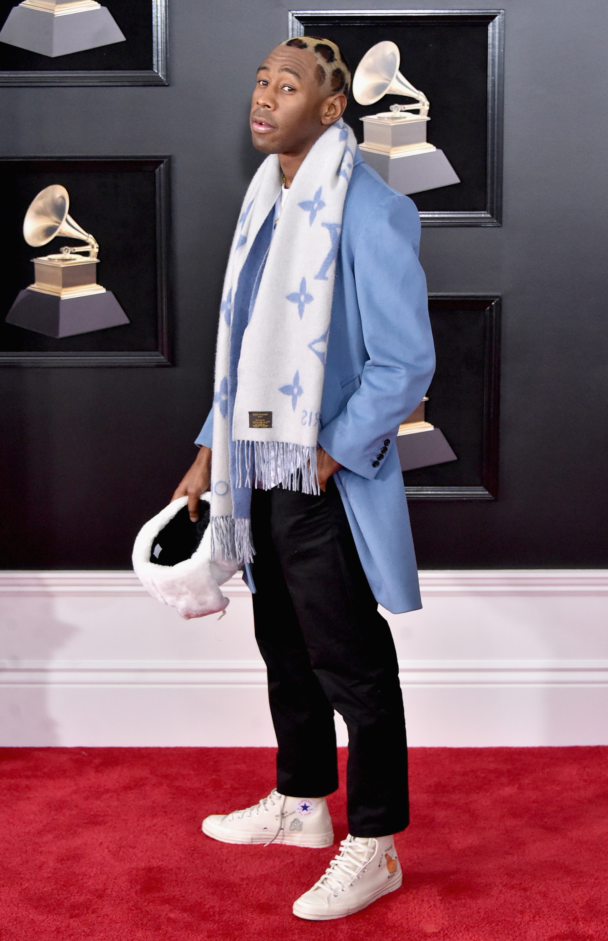 Tyler, The Creator at the 60th GRAMMY Awards in 2018
