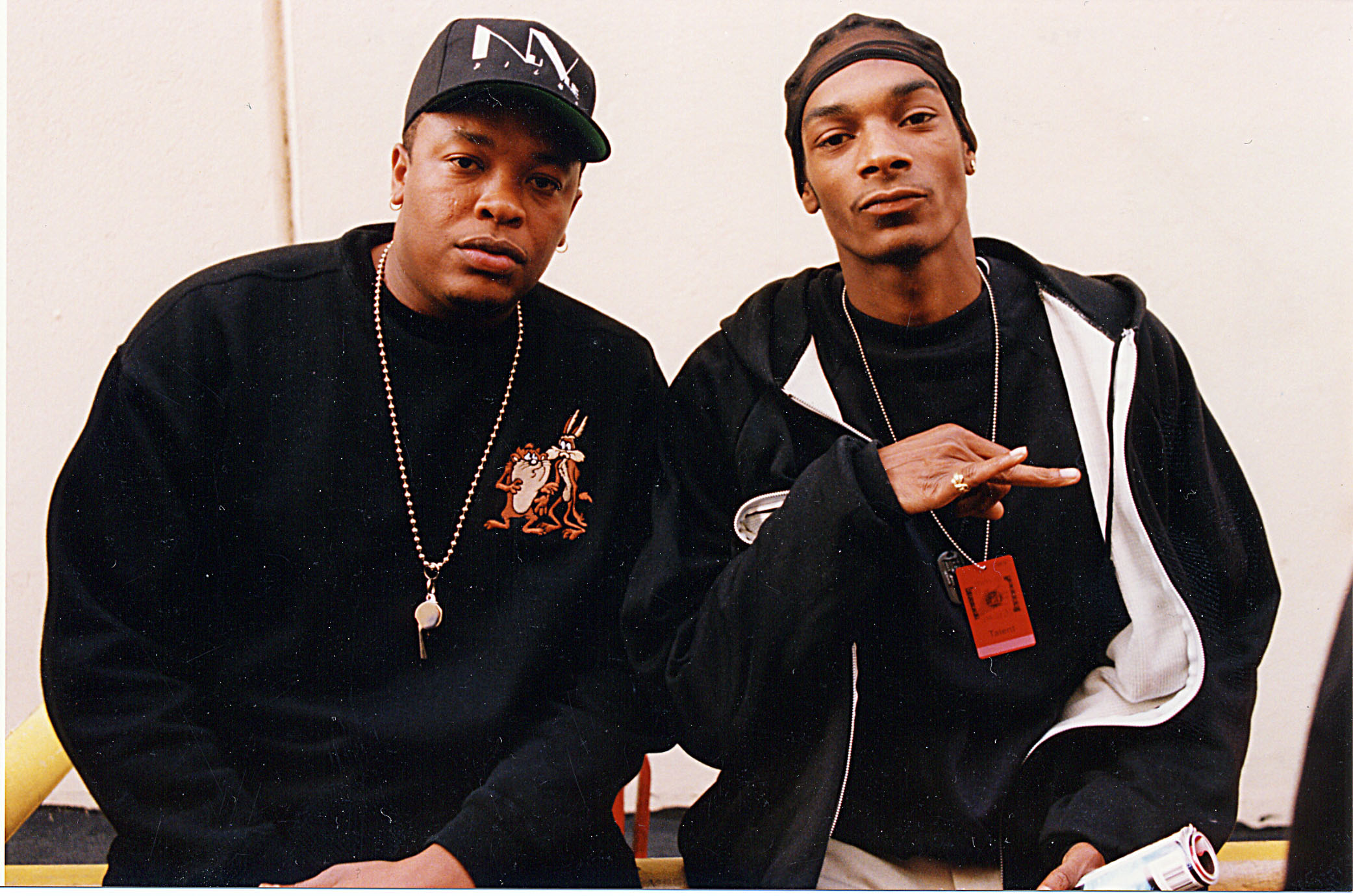 Dr. Dre and Snoop Dogg in 1993