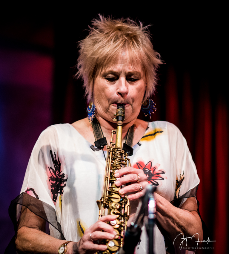 Jane Bunnett performs at Jazz Showcase in Chicago, Ill.