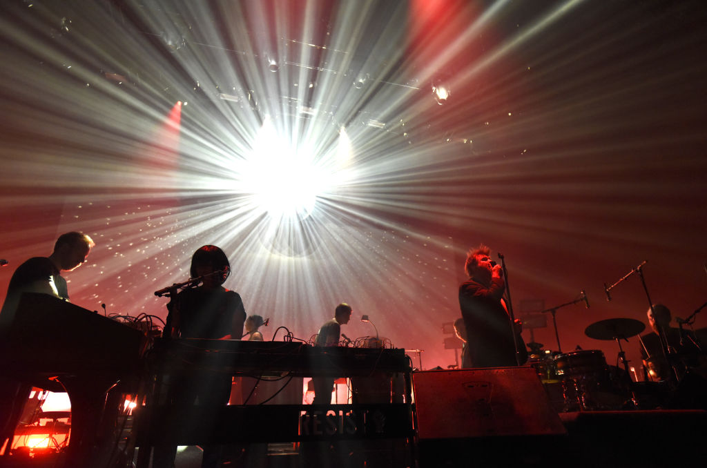 LCD Soundsystem perform in 2017