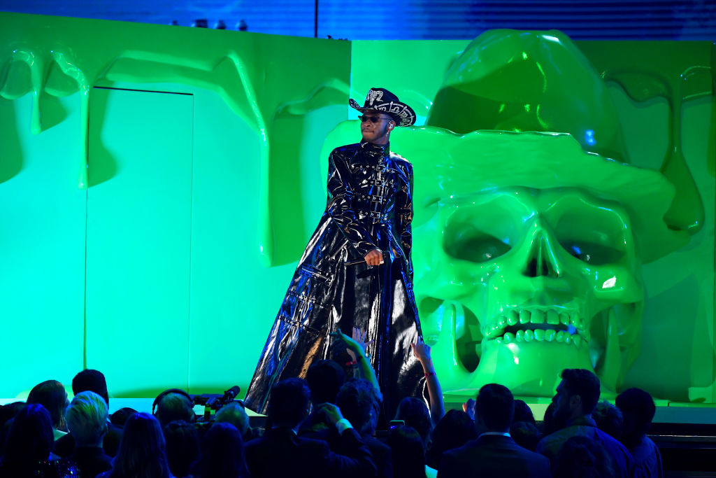 Lil Nas X performs at 2020 GRAMMYs