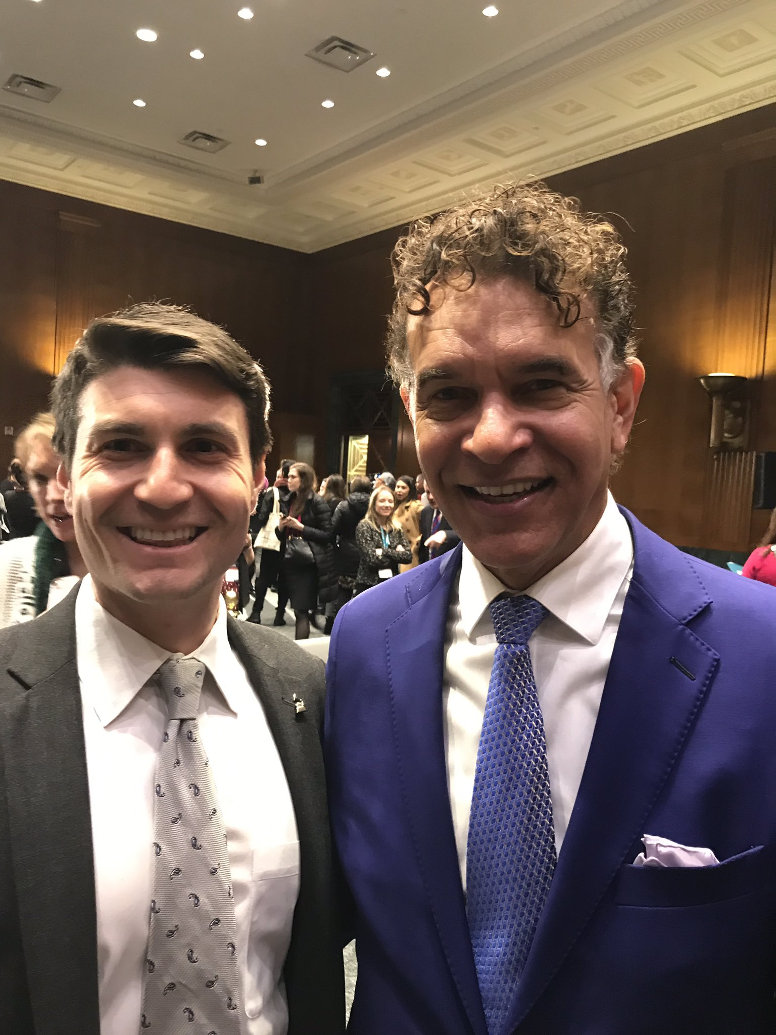 Michael Lewan and Brian Stokes Mitchell