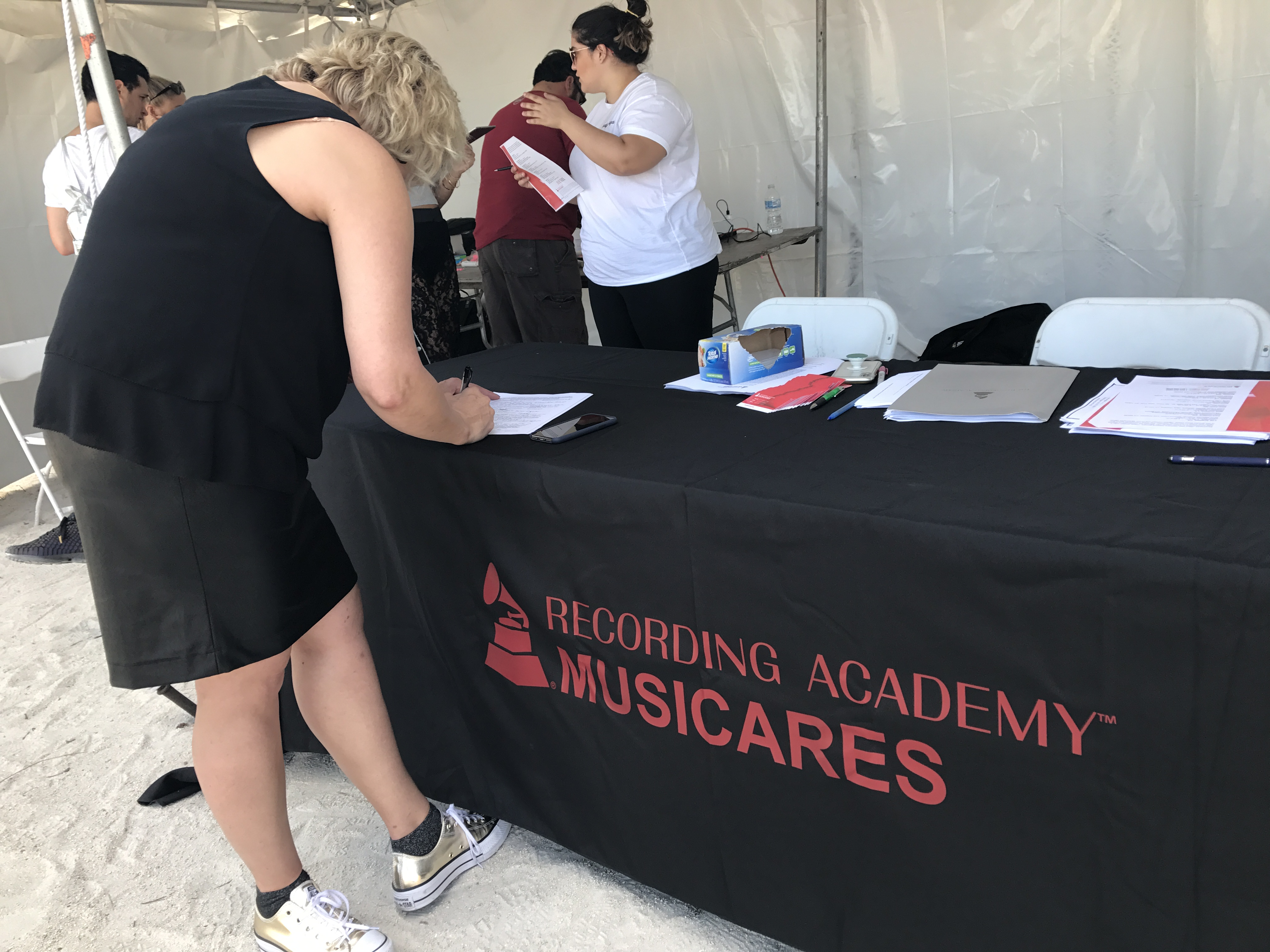 MusiCares Booth