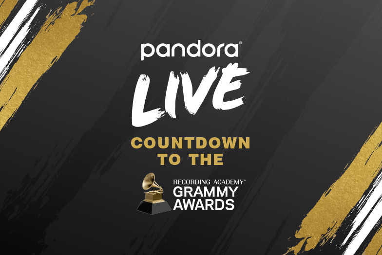 Pandora LIVE Countdown to the 63rd Annual GRAMMY Awards on March 14th, 2021.