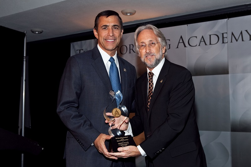 Rep. Darrell Issa and Recording Academy President/CEO Neil Portnow