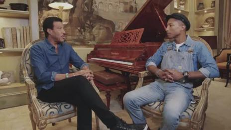 Lionel Richie In Conversation With Pharrell Williams