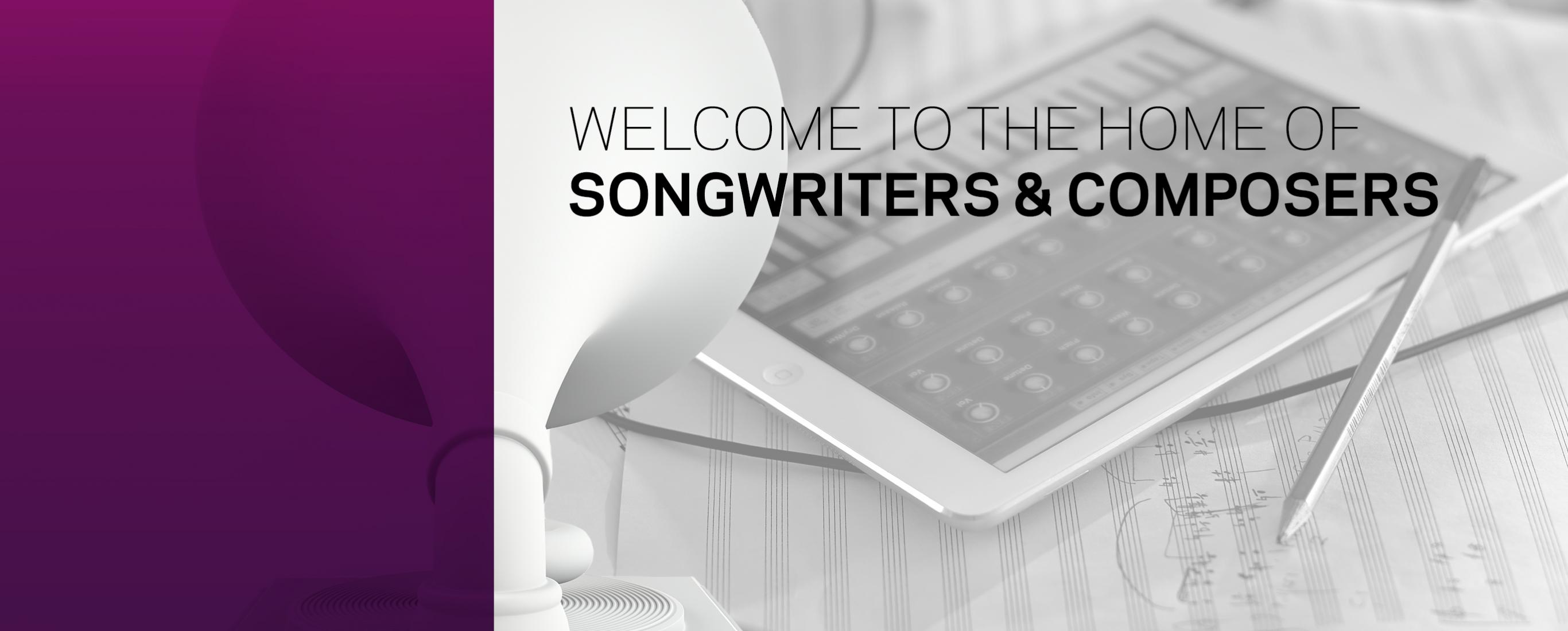 Welcome to the Songwriters and Composers Wing