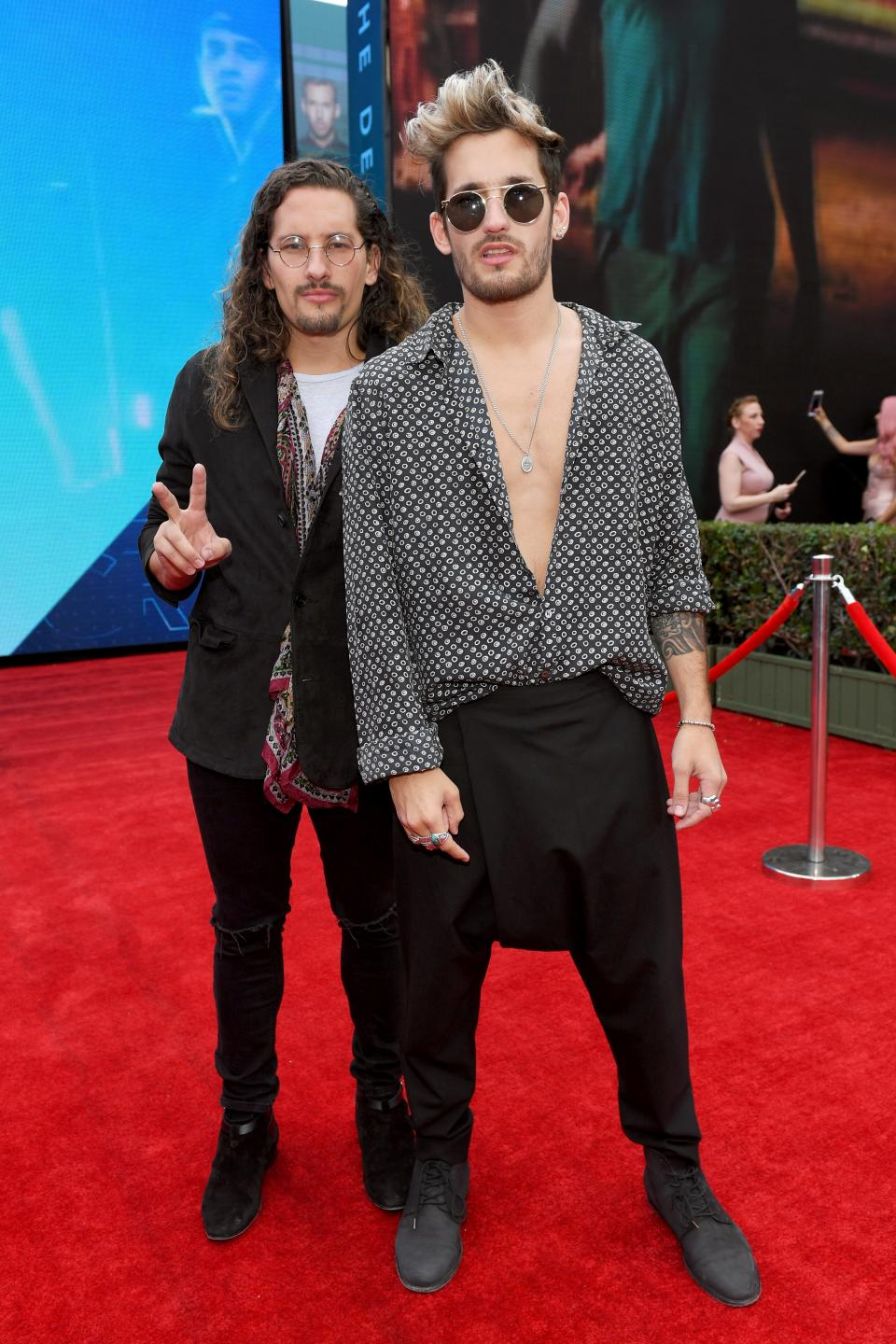 Mau Y Ricky at the 18th Latin GRAMMY Awards