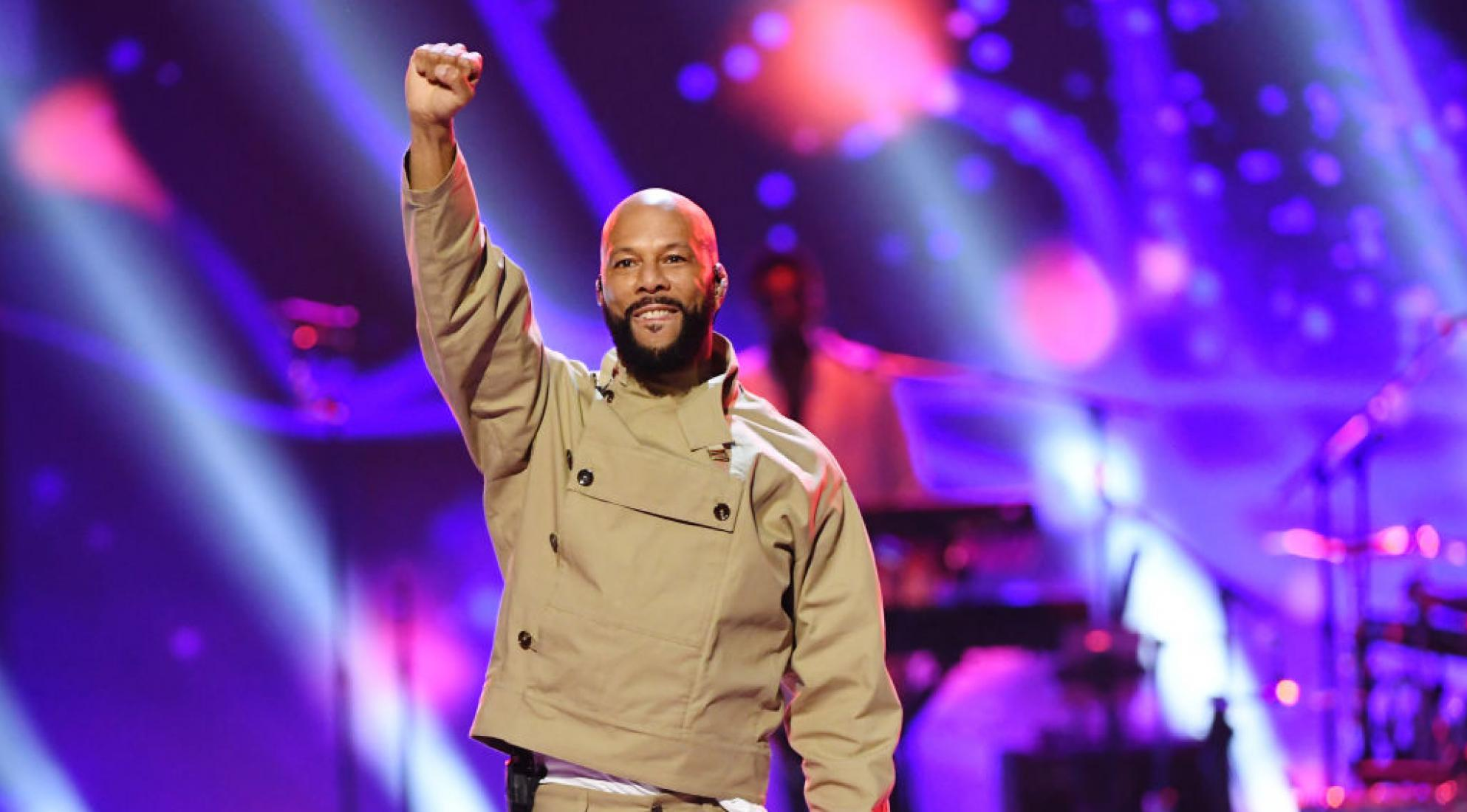 """Common performs at the """"Let's Go Crazy: The GRAMMY Salute To Prince"""" in 2020"""