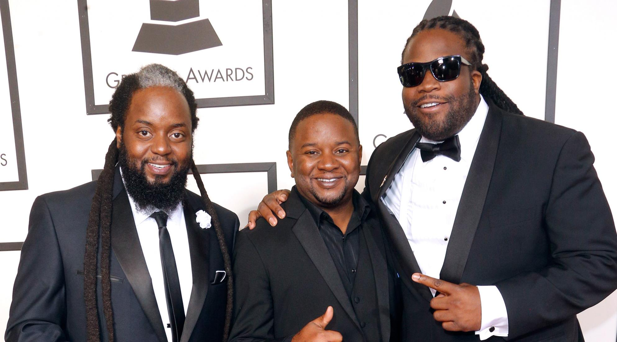 Morgan Heritage on the GRAMMYs red carpet