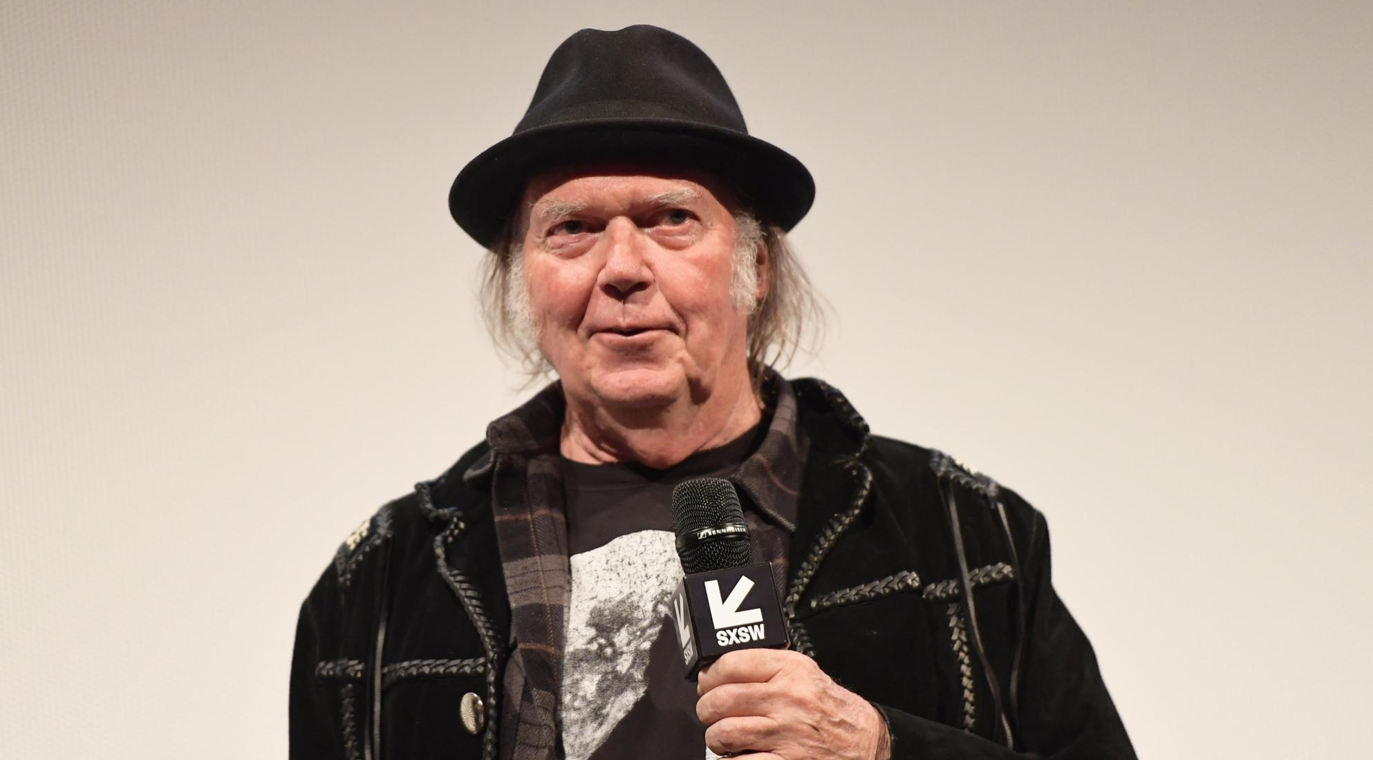 Neil Young, 2018