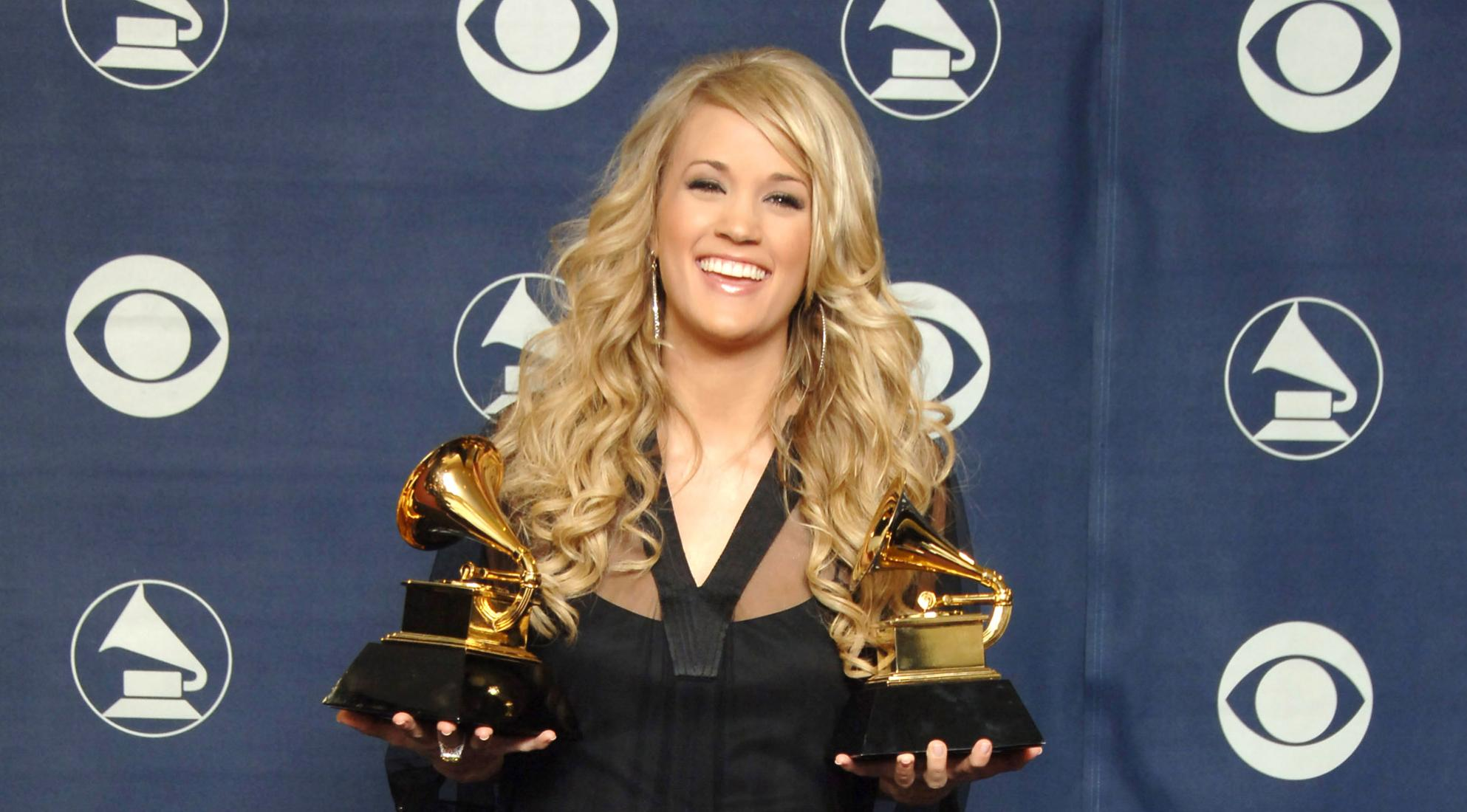 Carrie Underwood at the 2007 GRAMMYs