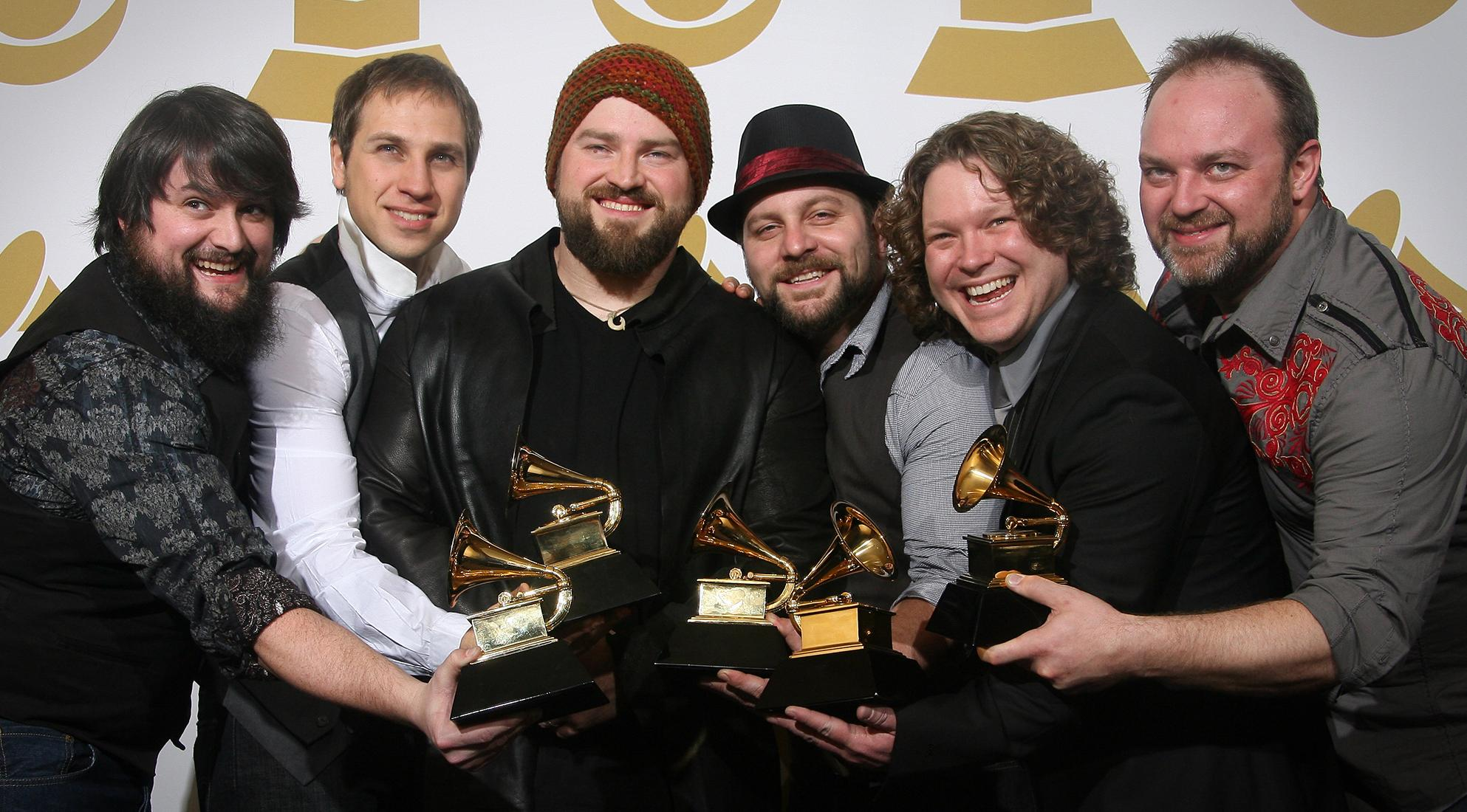Zac Brown Band at the 2010 GRAMMYs