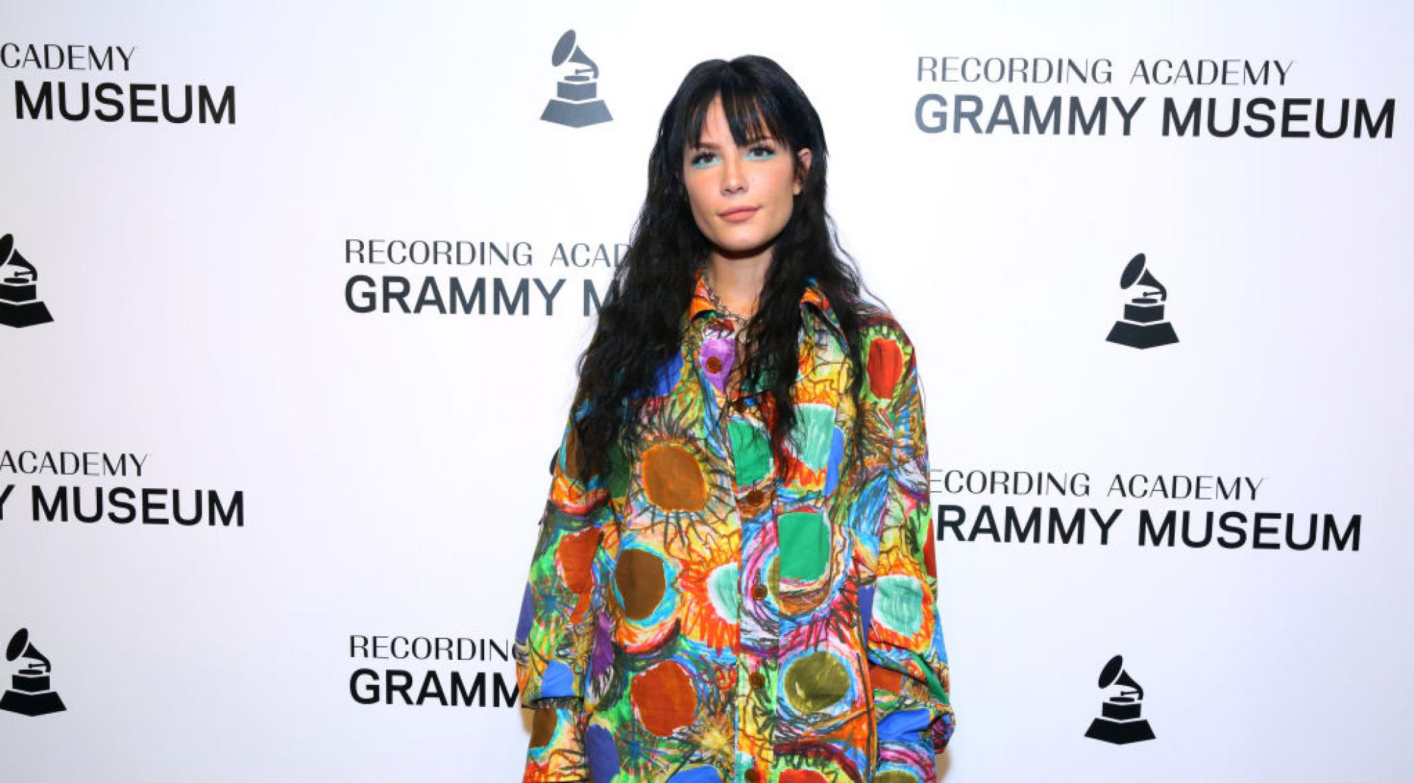 Halsey attends An Evening With Halsey at the GRAMMY Museum