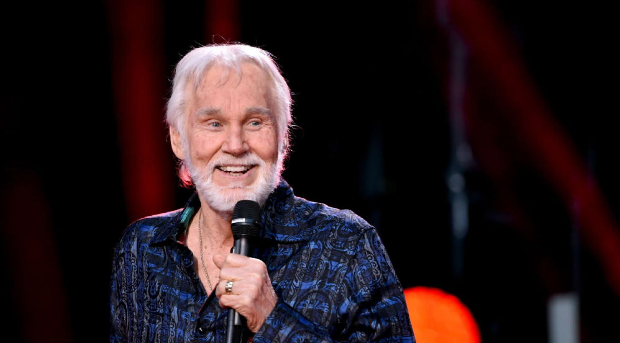 Kenny Rogers performs at the 2017 CMA Music Festival
