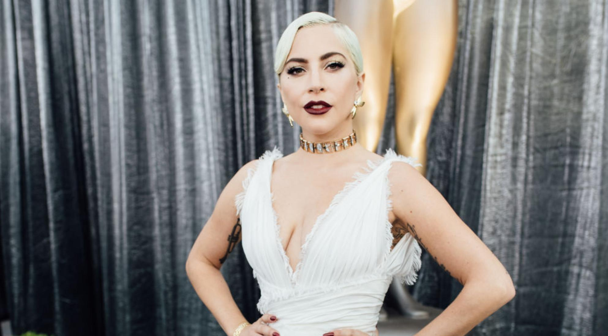 Lady Gaga attends 2019 Screen Actors Guild Awards