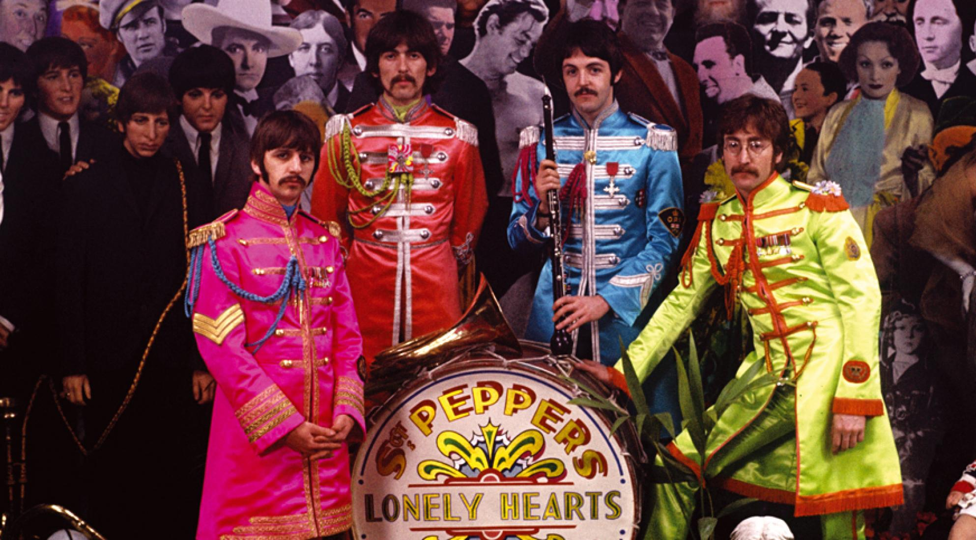 The Beatles' Sgt. Pepper's Lonely Hearts Club Band album cover