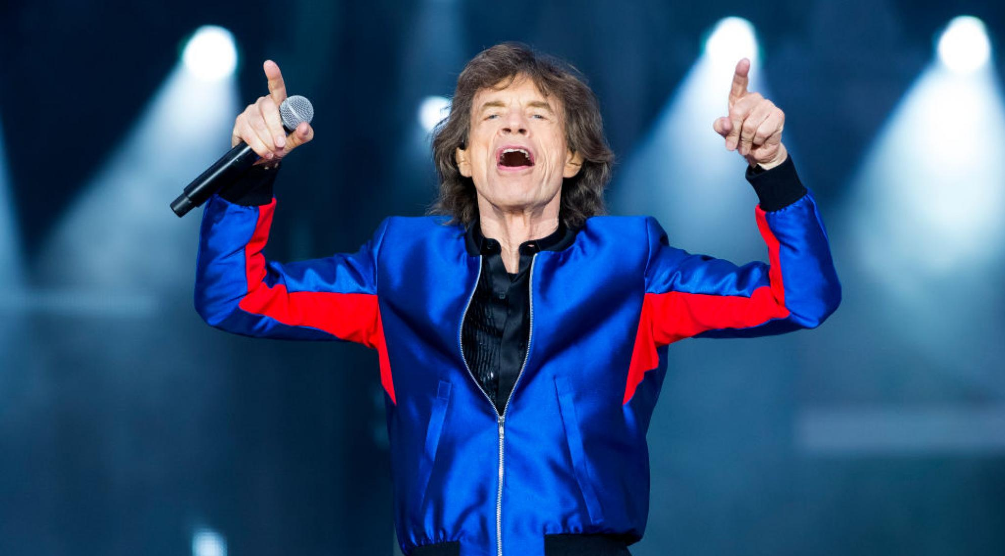 Mick Jagger of the Rolling Stones performs in 2018