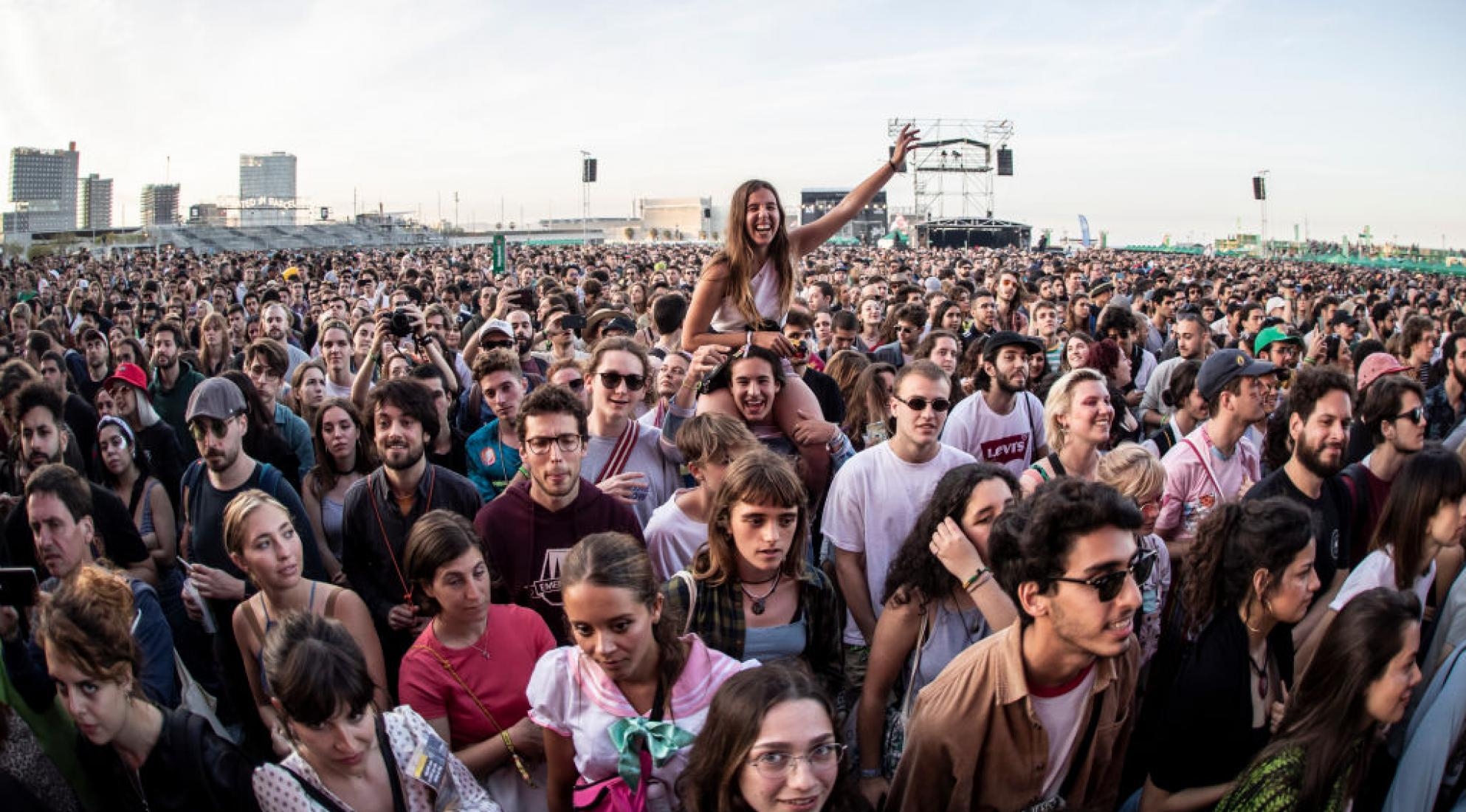 Crowd shot at Primavera Sound Barcelona 2019