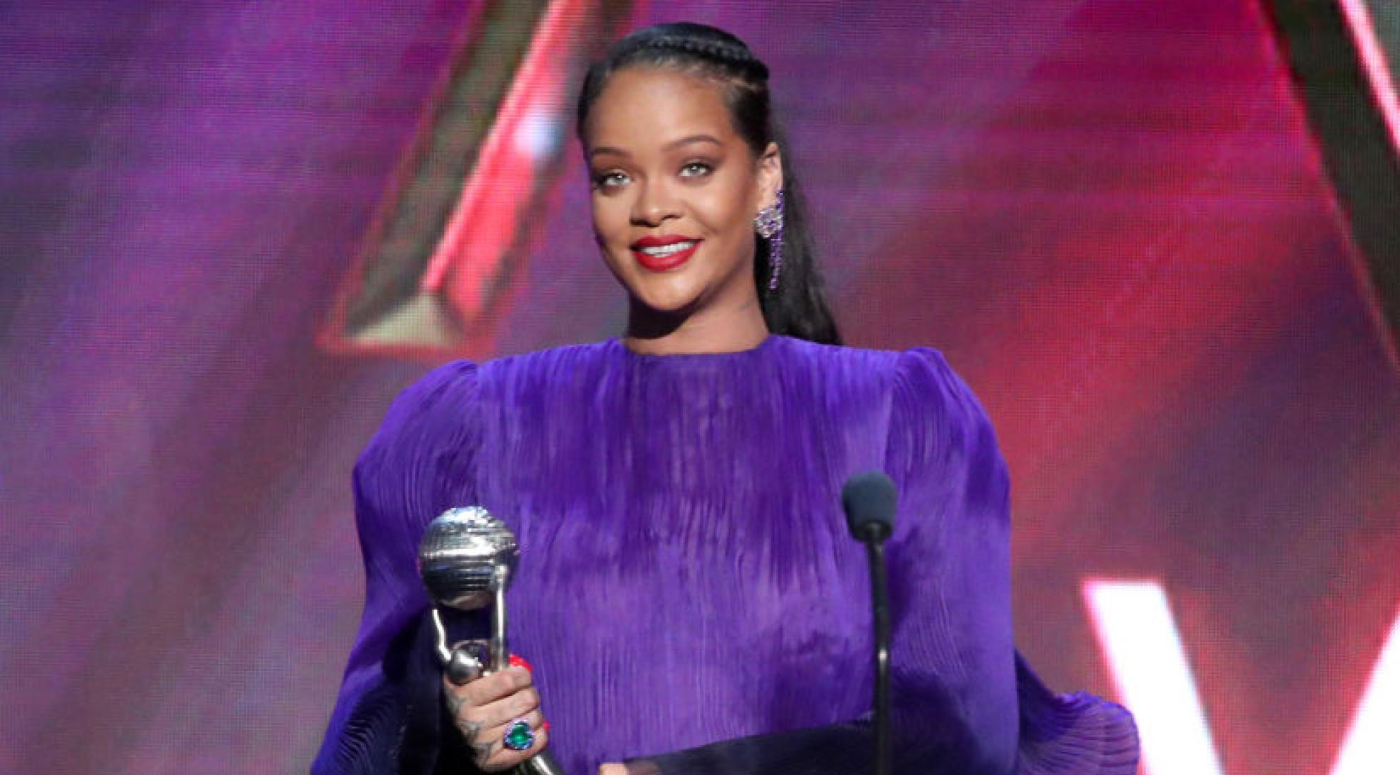 Rihanna at the 2020 NAACP Image Awards