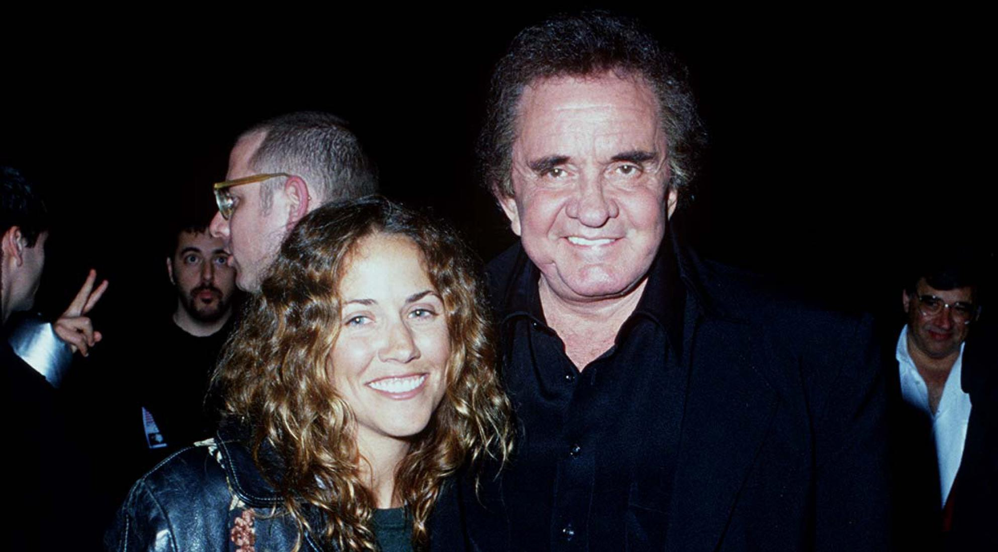 Sheryl Crow & Johnny Cash in 1995