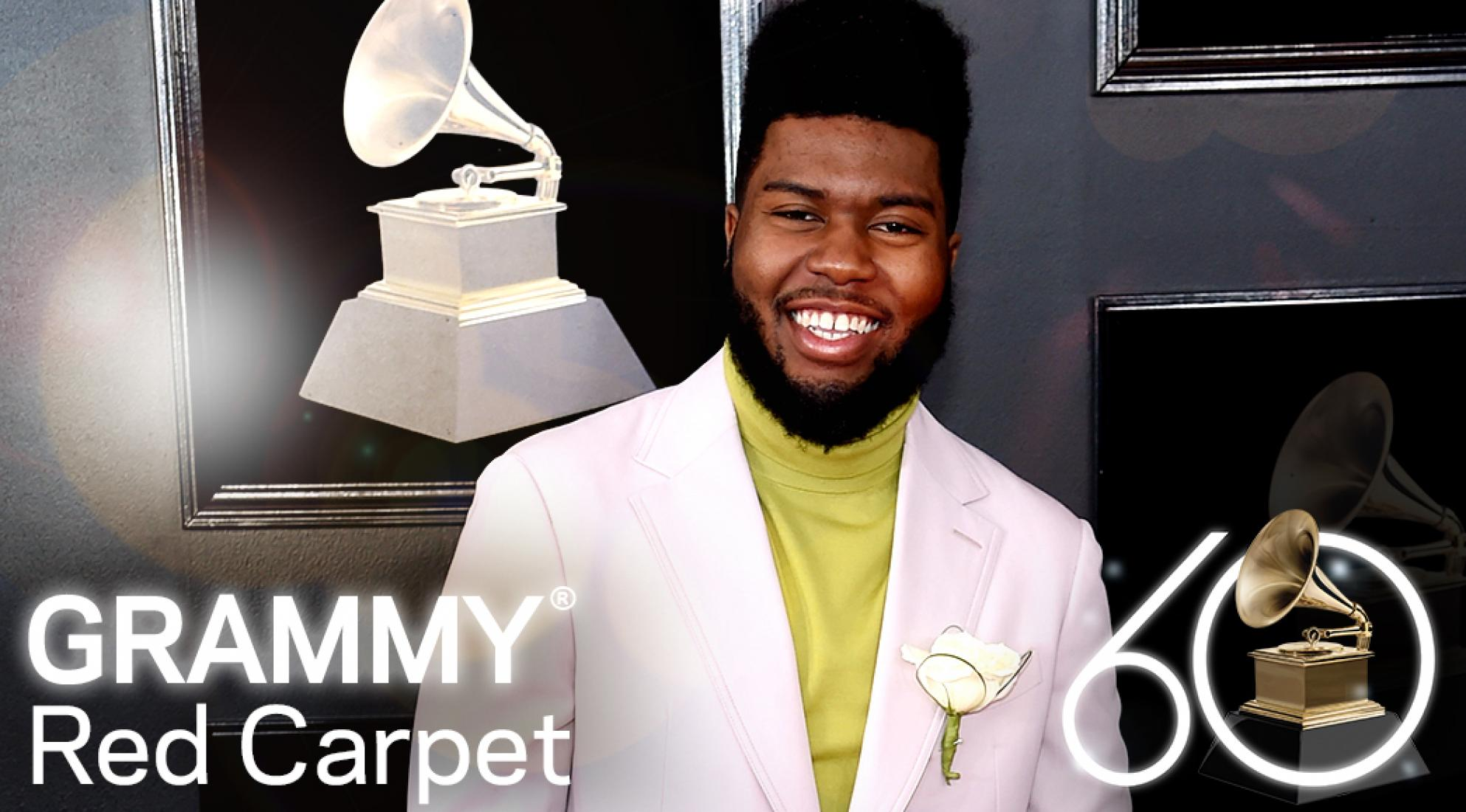 Men On The 2018 GRAMMYs Red Carpet