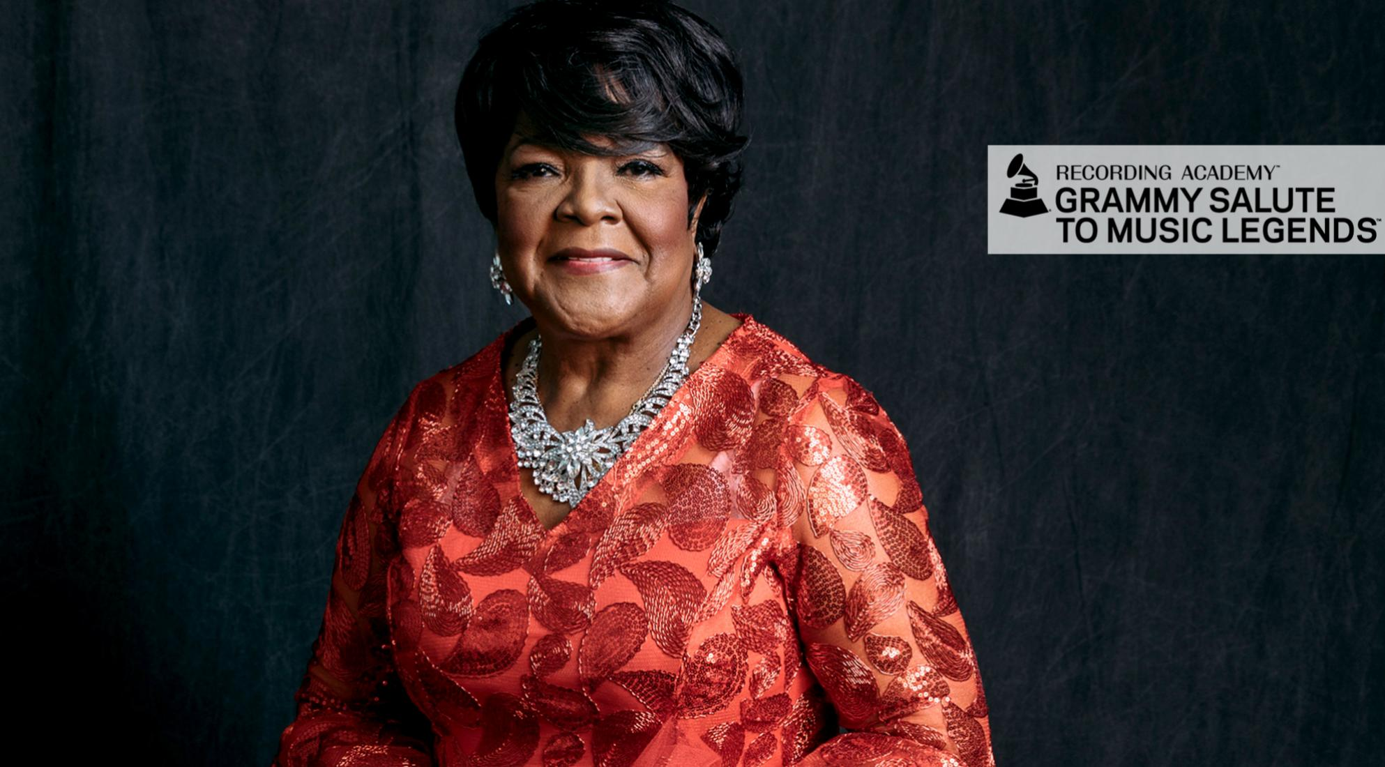 2017 Recording Academy Lifetime Achievement Award recipient Shirley Caesar