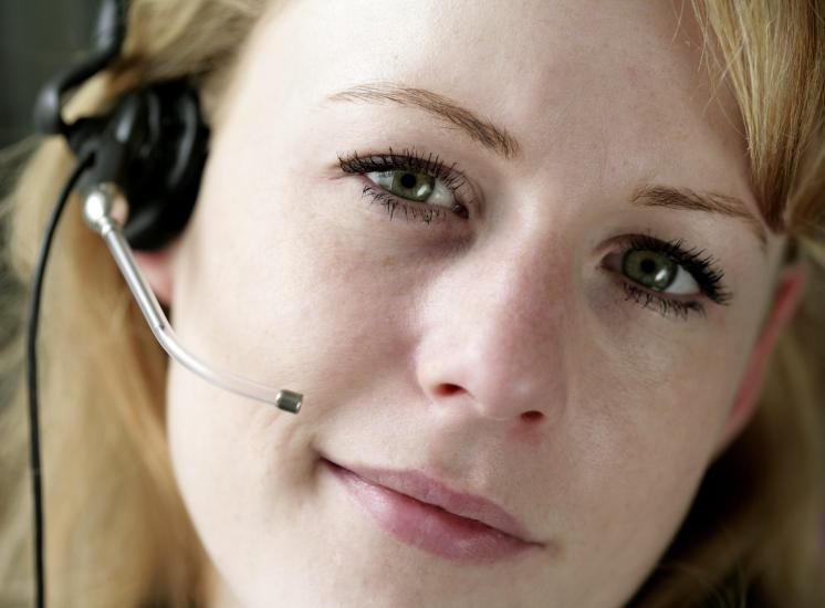Helpline call center