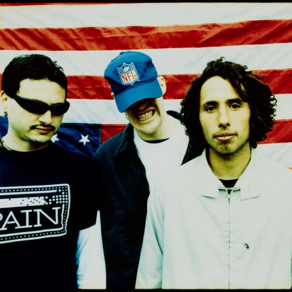 Rage Against The Machine in 1996