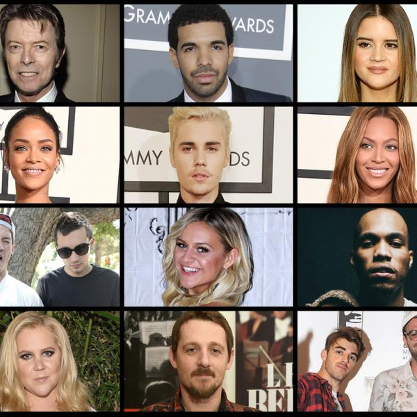 59th GRAMMY Awards nominees in 2017