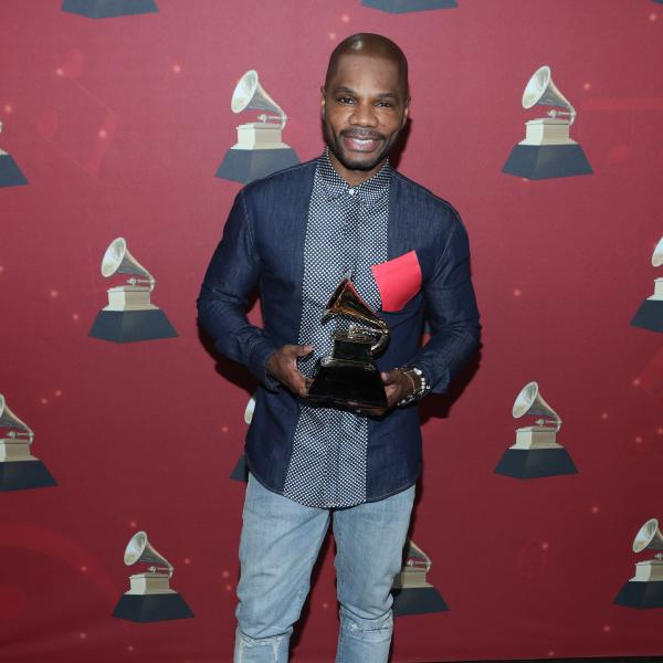 Kirk Franklin at the 59th GRAMMY Awards in 2017