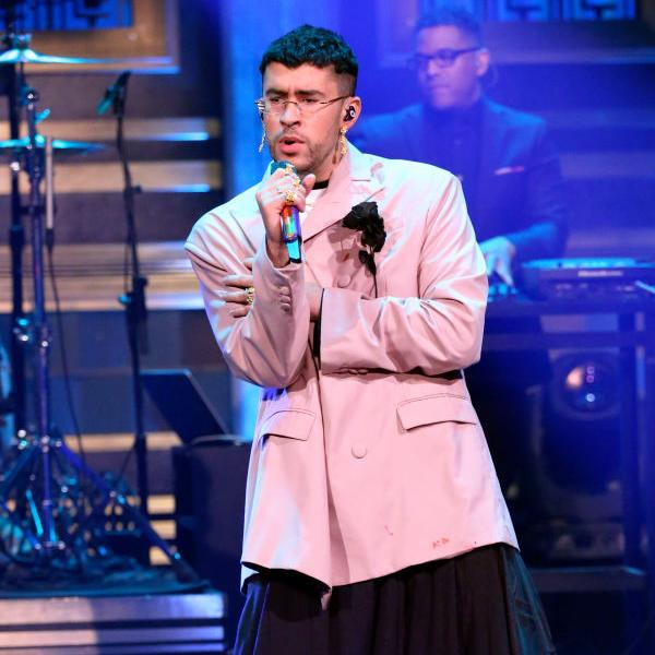 Bad Bunny on The Tonight Show Starring Jimmy Fallon