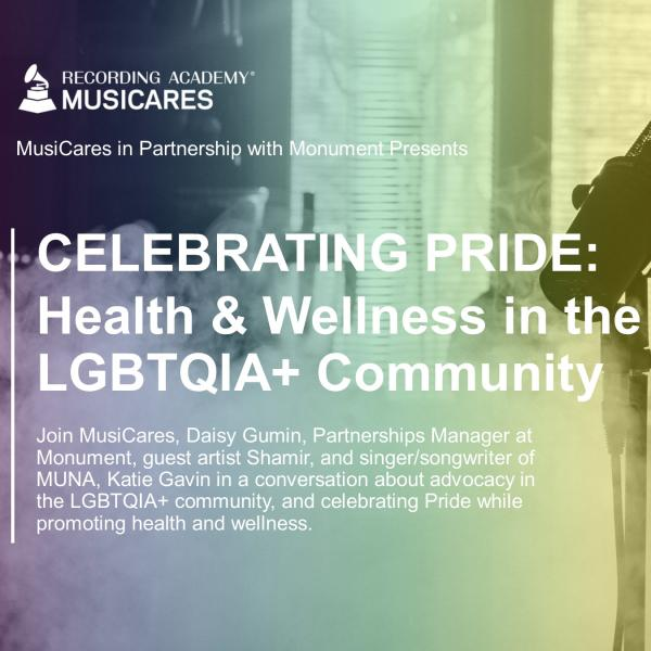 CELEBRATING PRIDE MONTH: Health & Wellness in the LGBTQ Community Graphic