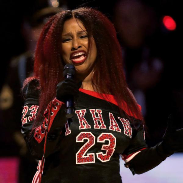 Chaka Khan performs at the 2020 NBA All-Star Game