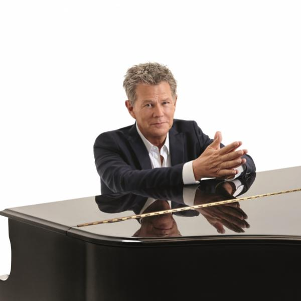 Producer David Foster at piano