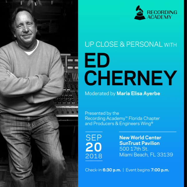 Ed Cherney Up Close And Personal