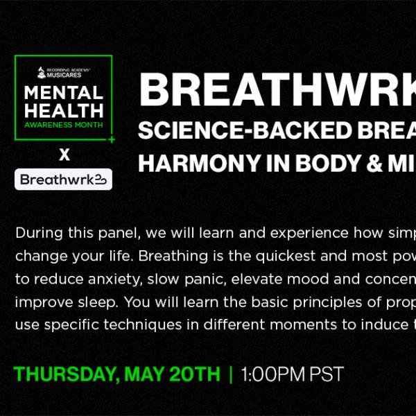 Breathwrk: Science-backed Breathing for Harmony in Body & Mind Graphic