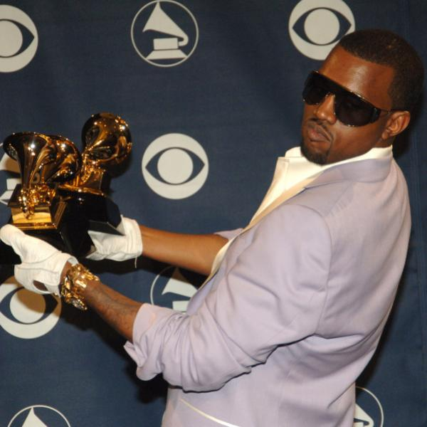 Kanye West at the 48th GRAMMY Awards in 2006