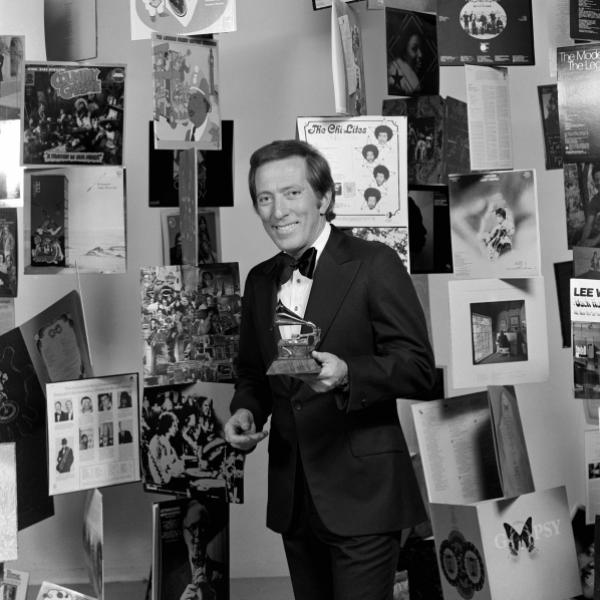 Andy Williams at the 15th GRAMMY Awards
