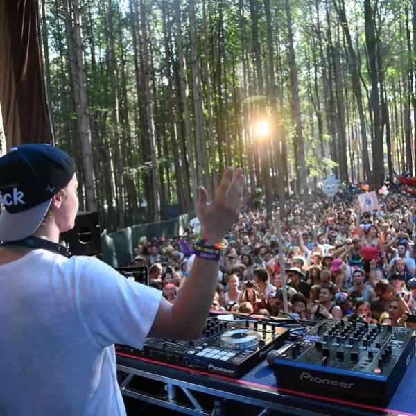 Kygo at Electric Forest 2014