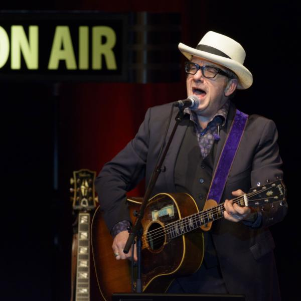 Elvis Costello onstage