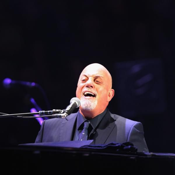Billy Joel performs at Madison Square Garden, 2015