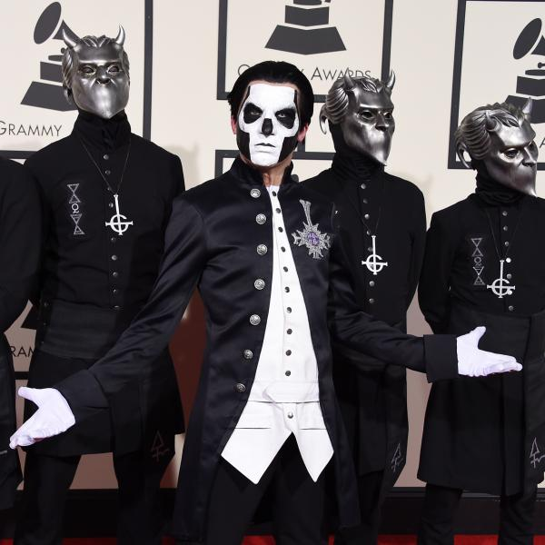 Ghost on the GRAMMYs red carpet